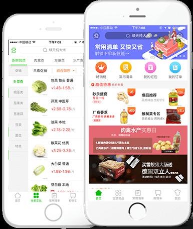 蔬东坡蔬菜配送软件解决方案